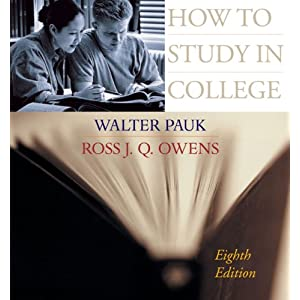 How to study in college by walter pauk