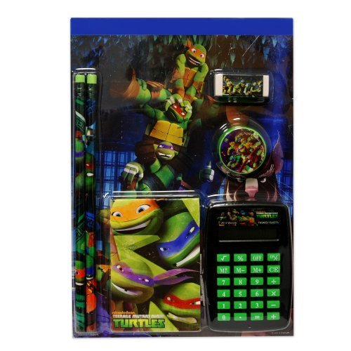 Nickelodeon TMNT 7pc Calculator Set