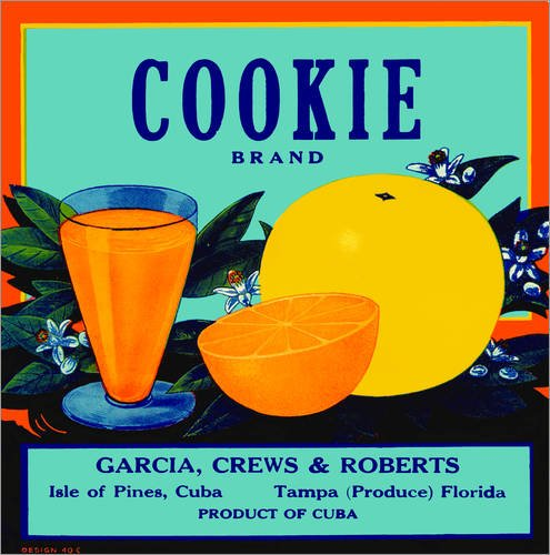 Reproduction sur toile 80 x 80 cm: Cookie - Reproduction prête à accrocher, toile sur châssis, image sur toile véritable prête à accrocher, reproduction sur toile