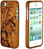 RioRand® RioRand Handmade Natural Wooden Case Cover for iPhone 5 & 5s (RRC-3)
