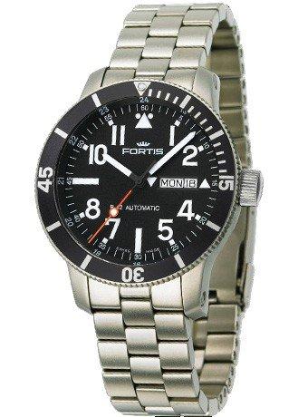 Fortis montre homme B-42 Official Cosmonauts Day/Date Titanium automatique 647.27.11 M