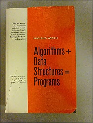 Algorithms + Data Structures = Programs on Amazon.com