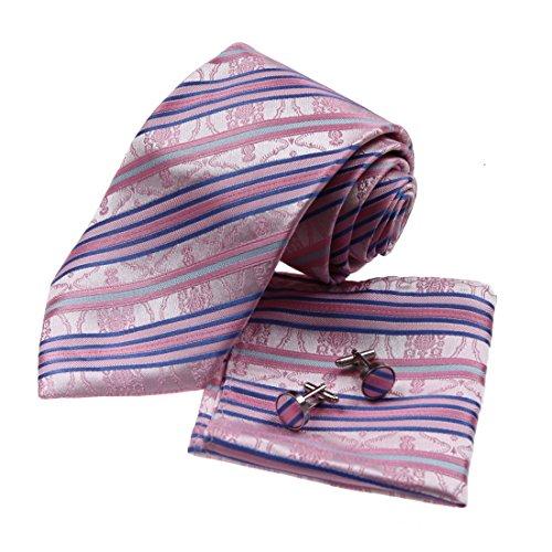 h8035-calda-rosa-motivo-ornamentale-contemporanea-mordente-blu-regalo-di-nozze-seta-cravatta-gemelli