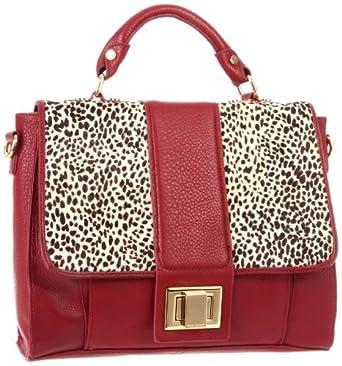 (包包)Kelsi Dagger Women's Carter Shoulder Bag 女士肩包 $87.43 黑色