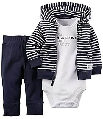 Baby Boys' 3 Piece Cardigan Set by Carter's