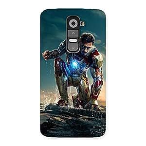 Impressive Premier Preparation Multicolor Back Case Cover for LG G2
