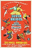 Vintage Poster Shop Seven Brides For Seven Brothers Movie Poster A3 Reprint