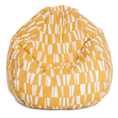 Majestic Home Goods Sticks Bean Bag, Small, Citrus front-641626