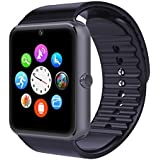 Otium One Bluetooth Smart Watch with NFC Cell Phone Watch Phone Mate For Android (Full functions) Samsung S3/S4/S5/Note 2/Note 3/Note 4 HTC Sony LG and iPhone 5/5C/5S/6/6 Plus (Partial functions) (Charcoal Grey)