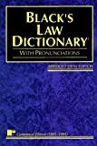 img - for Black's Law Dictionary: Definitions of the Terms and Phrases of American and English Jurisprudence, Ancient and Modern by Henry Campbell Black (1991-07-03) book / textbook / text book