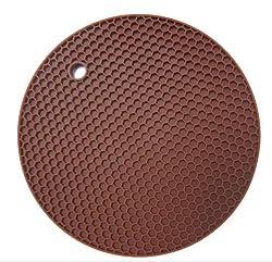 Silicone Trivet Mat Pot Holder Flexible Multi-purpose Kitchen Honeycomb Mat New