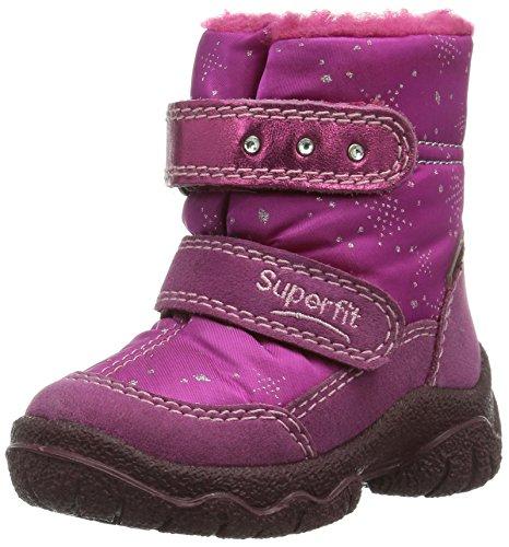 Superfit 30006274  FAIRY, Mädchen Warm gefütterte Schneestiefel, Violett (DAHLIA KOMBI 74), 24 EU (7 Kinder UK)