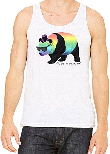 Always Be Yourself Panda Canotta Uomini Donne XX-Large
