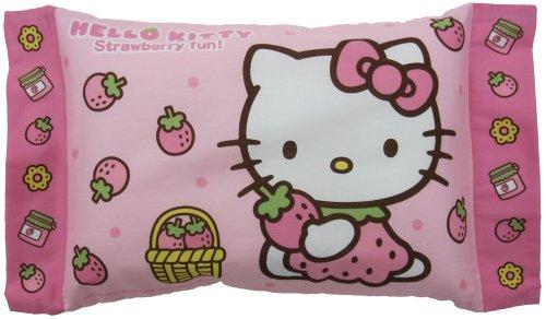 Morishita kids pillows polyester 28 x 39 cm キティイチゴ pink
