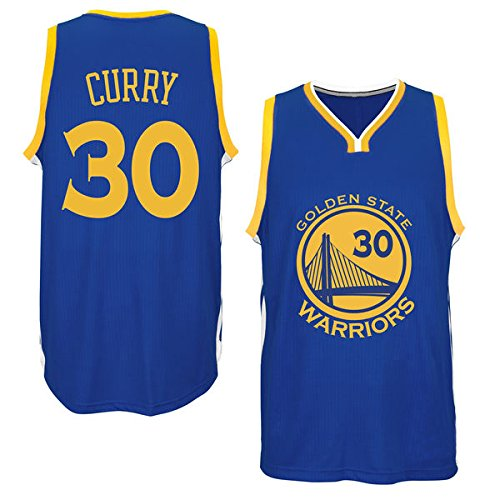 Mens Stephen Curry #30 Golden State Warriors Royal Blue Road Jersey