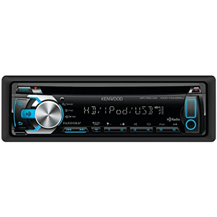 Amazon.com: Kenwood KDC-HD455U Car In-Dash USB & CD Receiver MP3 ...