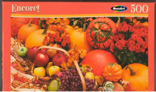RoseArt Encore Autumn Harvest 500 Piece Puzzle