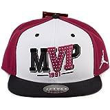 Nike Mens Air Jordan 6 VI MVP Snapback Accessories White/Maroon-Black