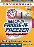 Arm & Hammer 33200-84011 Baking Soda Fridge-n-Freezer Odor Absorber, 16 oz (Pack of 12)