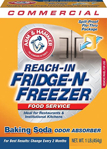 Arm & Hammer 33200-84011 Baking Soda Fridge-n-Freezer Odor Absorber, 16 oz (Pack of 12) (Baking Soda Fridge And Freezer compare prices)