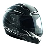 HJC Helmets Razz Casque de moto pour femmes et enfants Noir Noir m
