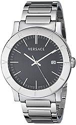 "Versace Men's VQB060000 ""Acron"" Stainless Steel Watch"