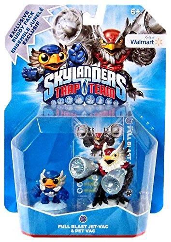Skylanders Trap Team Full Blast Jet-Vac & Pet Vac Buddy Pack