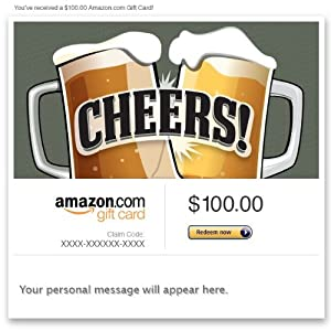 Amazon Gift Card - E-mail - Cheers!