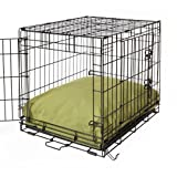 Crate Covers and More RECDOGLEAF30  Rectangular Dog Bed Set, Leaf
