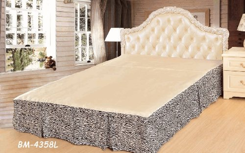 Tache Entrancing Elegant Tree Rings Bed Skirt-Queen front-206944