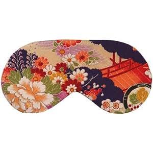 Cris Notti Sleep Mask - Green Kimono