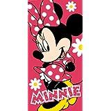 Disney Minnie Mouse Flowers Beach Bath Cotton Towel