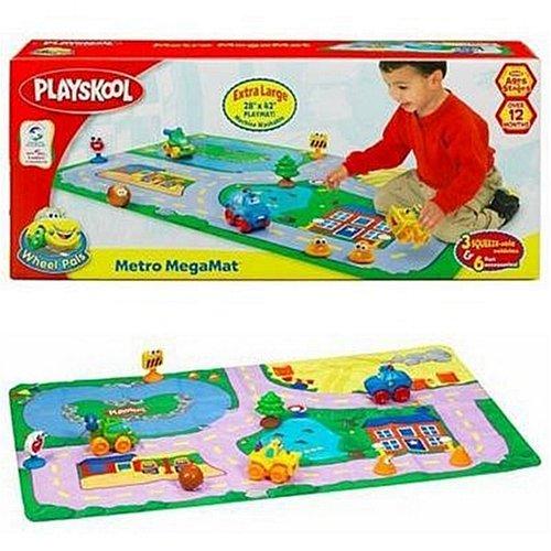 Hasbro Playskool Wheel Pals Metro Megamat - Buy Hasbro Playskool Wheel Pals Metro Megamat - Purchase Hasbro Playskool Wheel Pals Metro Megamat (Hasbro, Toys & Games,Categories,Play Vehicles,Vehicle Playsets)