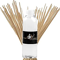 SANDALWOOD VANILLA & FRENCH MUSK Reed Diffuser Fragrance Oil Refill 125ml/4oz