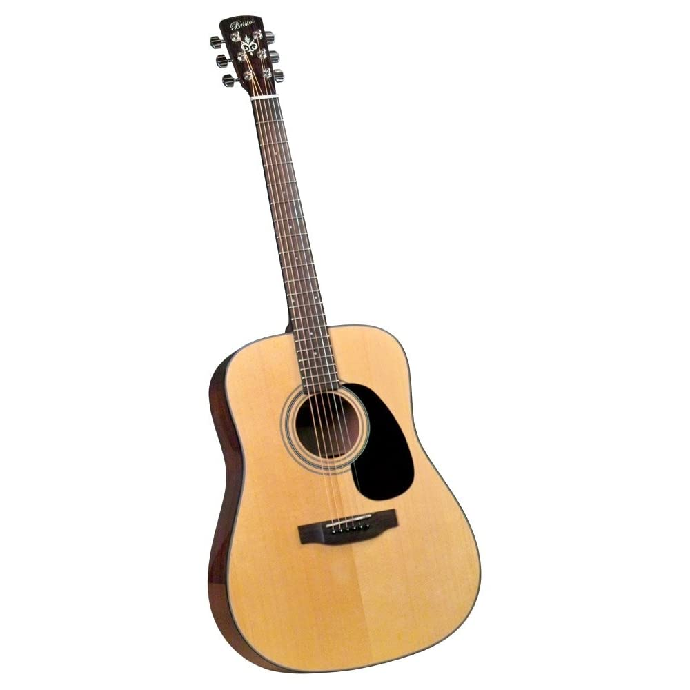 Bristol BD-16 Dreadnought Acoustic Guitar - best beginner guitar under 300