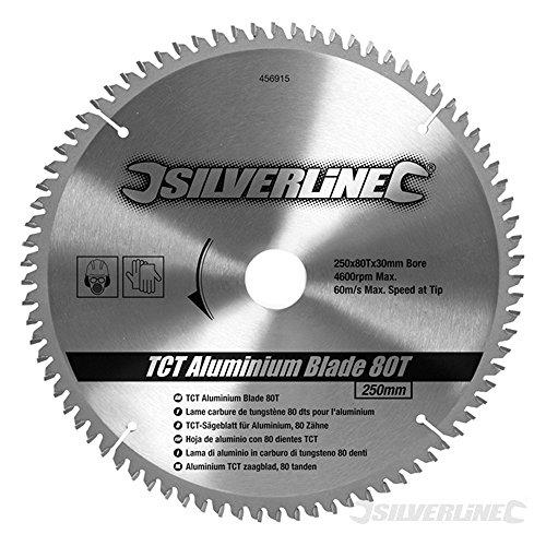 silverline-456915-lame-tct-pour-laluminium-80-dents-250-x-30-bagues-de-25-20-16-mm