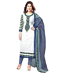 Printed Unstitched Regular Wear Dress Material