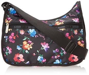 LeSportsac Classic Hobo Handbag,Impressionist Flower,One Size