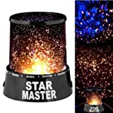 Evana Star Master Projector With Usb Wire Turn Any Room Into A Starry Sky(13.4 Cm,Black)