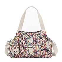 Kipling Women's Felix Printed Handbag One Size Multi Splatter
