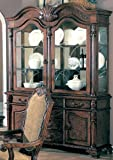 Saint Charles Traditional European Style Solid Wood China Cabinet Buffet Hutch