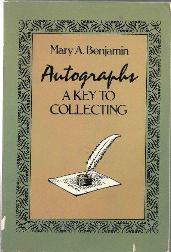 Autographs, Mary A. Benjamin
