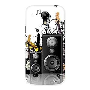 Delighted Music Comp Multicolor Back Case Cover for Galaxy S4 Mini