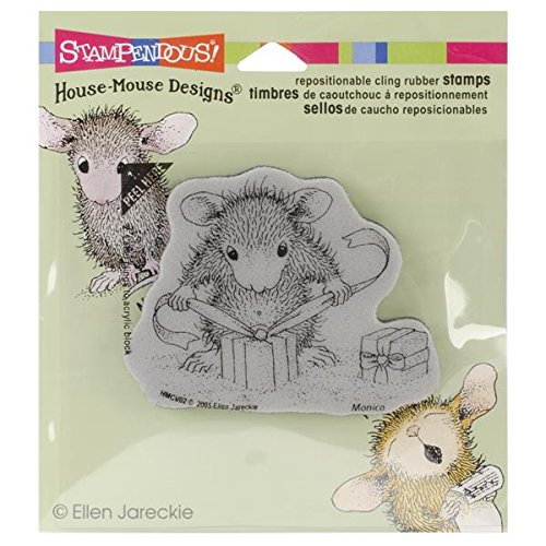 Stampendous, Cling Rubber Stamp, Gifts to Tie (Rubber Stamps House Mouse compare prices)