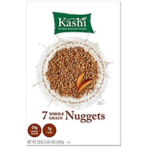 Kashi 7 Whole Grain Nuggets, 20-Ounce Boxes (Pack of 6)