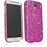 BoxWave Glamour & Glitz Galaxy S4 (S IV, SIV) Case - Slim Snap-On Galaxy S4 Glitter Case, Fun Colorful Sparkle Case for your Galaxy S4 (Cosmo Pink)