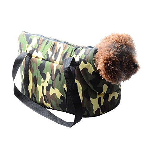 Eizur-Tarnung-Tragbar-Hundetasche-Carrier-Draussen-ReiseTragetasche-Haustiertasche-Hundetragetasche-Katzentasche-Handtasche-fr-Hunde-Katzen-Hndchen-Kleintiere-Gre-362023cm
