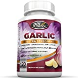 Pure Garlic - 1000mg Pure And Potent Garlic Allium Sativum Supplement (Maximum Strength) - Improve Your Overall Wellness - Made In The USA In A GMP & FDA Approved Facility - 60 Day Supply - 120 Softgels by BRI Nutrition