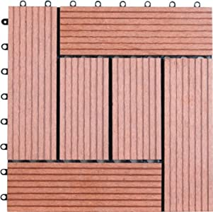 Sale naturesort n4 otsa1 bamboo composite deck tile for Composite decking sale