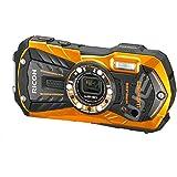 """Ricoh WG-30W Appareil photo Numérique étanche Outdoor 2,7"""" 16 Mpix Zoom optique 5x HDMI WiFi- Orange"""